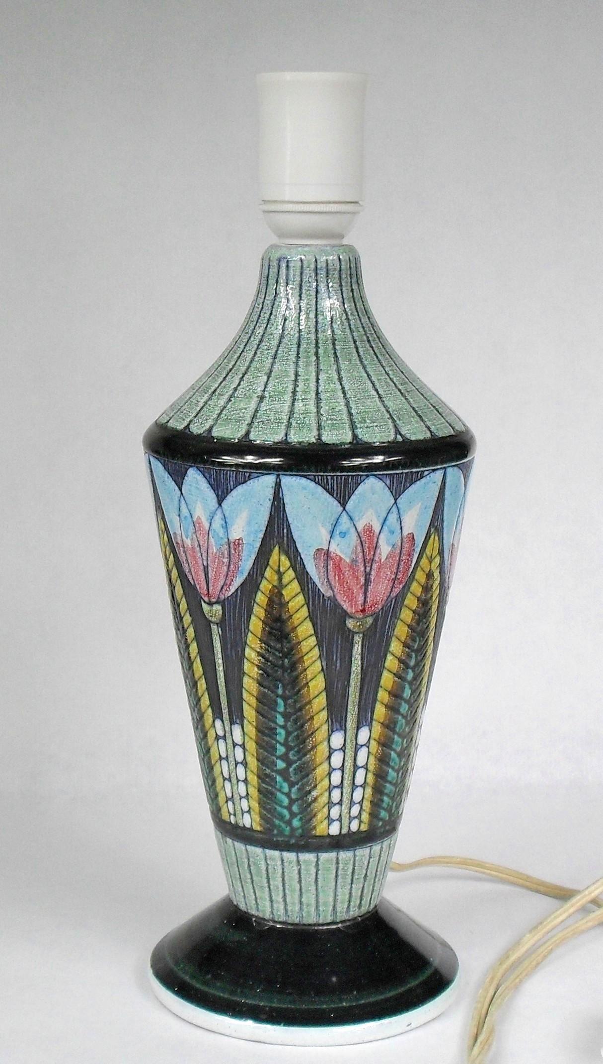 Bordslampa Lampfot Tilgmans Keramik